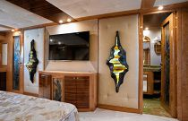 photo of Amer Yachts 100 television in master bedroom