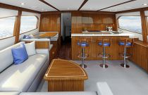 photo of Salon of Hatteras GT65