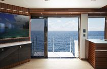 photo of Hatteras M90 Panacera Balcony Door