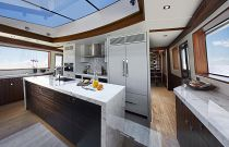 photo of Hatteras M90 Panacera Galley