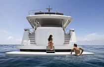 photo of Hatteras M90 Panacera Swim Platform